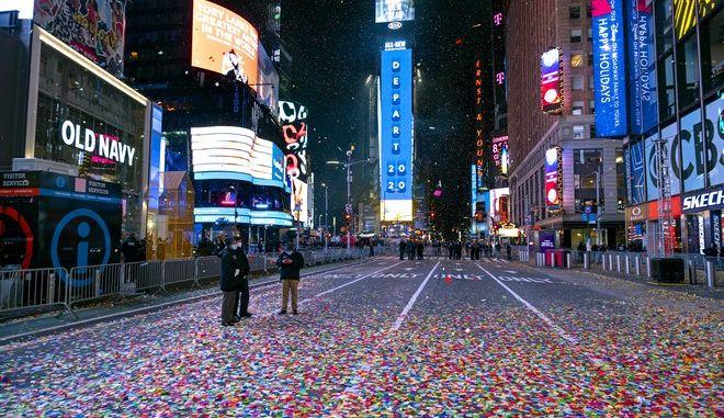 Πρωτοχρονιά στη Νέα Υόρκη
