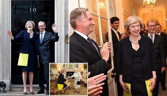 May day: Η νέα πρωθυπουργός της Βρετανίας ανέλαβε καθήκοντα