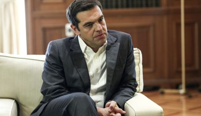 Meeting of Prime Minister Alexis Tsipras with the President of the Hellenic Parliament Nikos Voutsis in Athens, on June 20, 2017 /             ,  ,  20 , 2017
