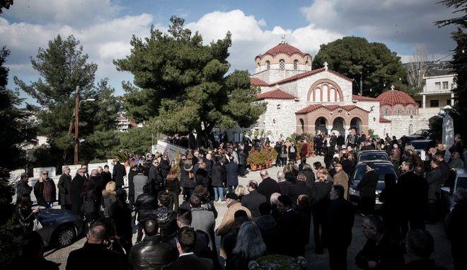 Η κηδεία του Θέμου Αναστασιάδη