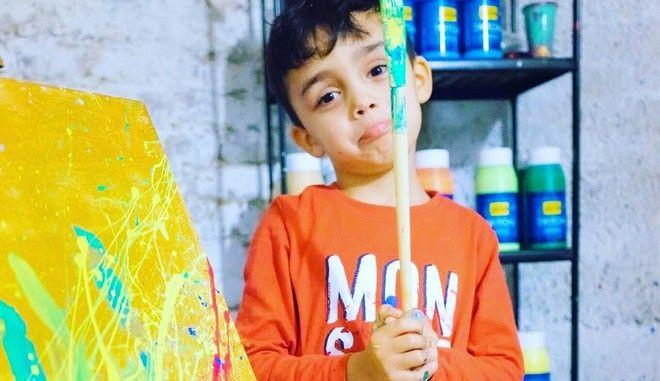 """Γερμανία: Ο 7χρονος """"μικρός Πικάσο"""" προκαλεί παγκόσμιο ενδιαφέρον"""