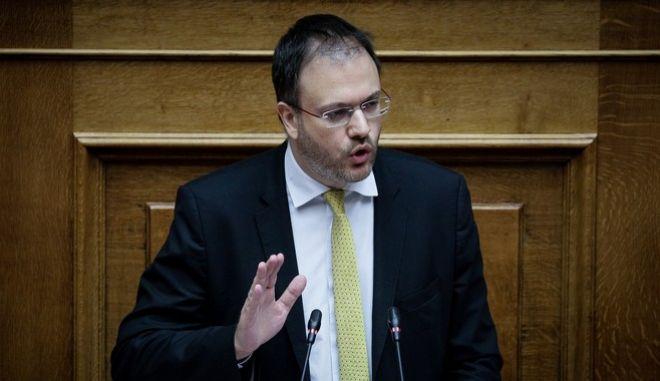 Ο Γραμματέας της ΔΗΜΑΡ Θανάσης Θεοχαρόπουλος