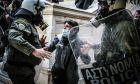 Επέμβαση της αστυνομίας με σκοπό να μην πραγματοποιηθεί η συγκέντρωση αλληλεγγύης στον απεργό πείνας Δημήτρη Κουφοντίνα, το Σάββατο 6 Μαρτιου 2021
