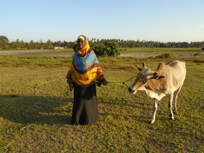 H Halima είναι μια αγρότισσα με όραμα.
