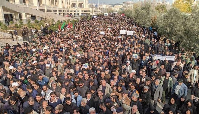 Διαδηλώσεις κατά των ΗΠΑ στο Ιράν