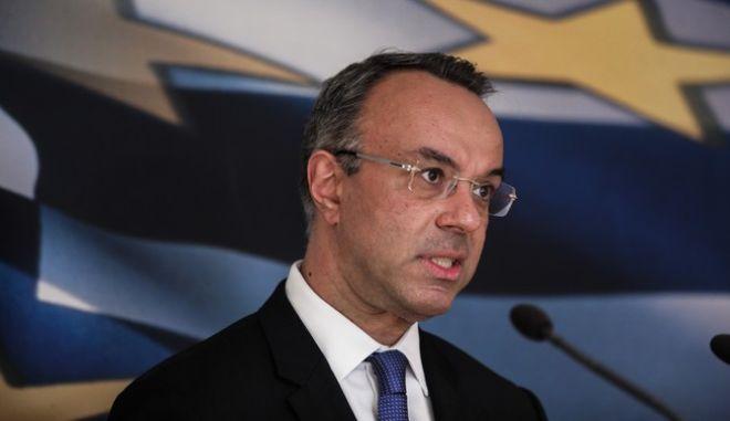 O υπουργός Οικονομικών Χρηστος Σταϊκούρας