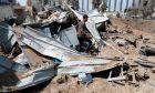 Συντρίμμια στην λωρίδα της Γάζας, 11 Μαΐου 2021