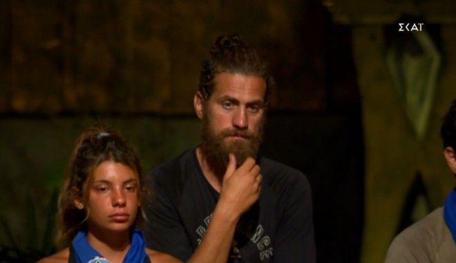 """Ο Κώστας Παπαδόπουλος στο """"Survivor 4"""""""