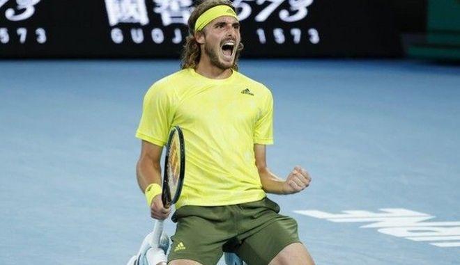 Ο Στέφανος Τσιτσιπάς αντιμετωπίζει τον Ντανίλ Μεντβέντεφ στο 2ο ημιτελικό του Australian Open