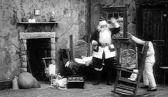 'Santa Claus': Δείτε την πρώτη χριστουγεννιάτικη ταινία που γυρίστηκε ποτέ