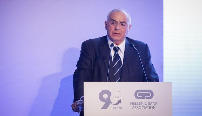 Ο Πρόεδρος της Eurobank Νίκος Καραμούζης