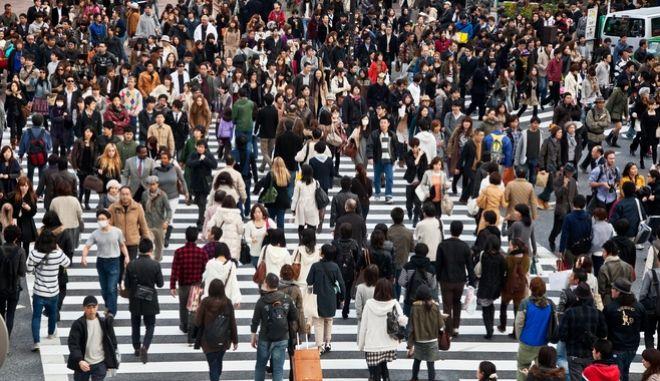 Κόσμος στο Τόκιο