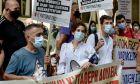 Διαμαρτυρία νοσοκομειακών γιατρών, 24 Σεπτεμβρίου 2020