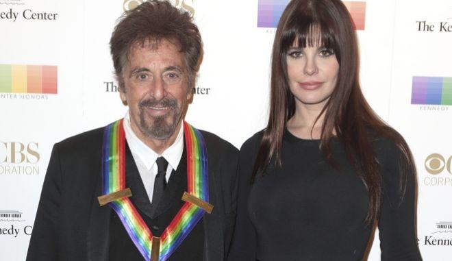 Με τη Λουσίλα Σόλα πέρασε τα γενέθλιά του ο Αλ Πατσίνο