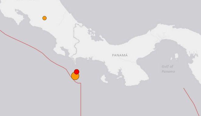 Πολύ ισχυρός σεισμός στον Παναμά