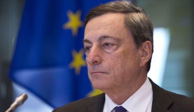 Ο πρόεδρος της ΕΚΤ Μάριο Ντράγκι