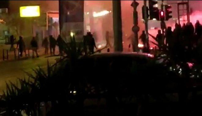 Επίθεση με βόμβες μολότοφ σε σύνδεσμο οπαδών του ΠΑΟ