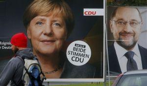 Γερμανικές εκλογές: Προβάδισμα 13 μονάδων των CDU / CSU σε δημοσκόπηση