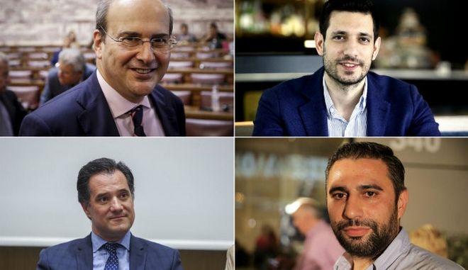 ΝΔ: Οι νέοι, οι νυν και τα δίδυμα στην πρώην Β΄ Αθηνών
