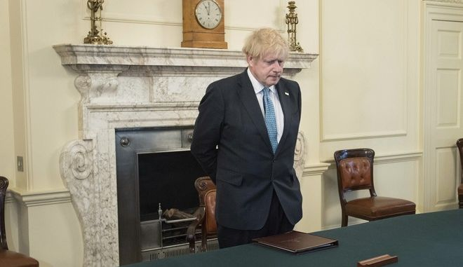 O πρωθυπουργός της Βρετανίας, Μπόρις Τζόνσον