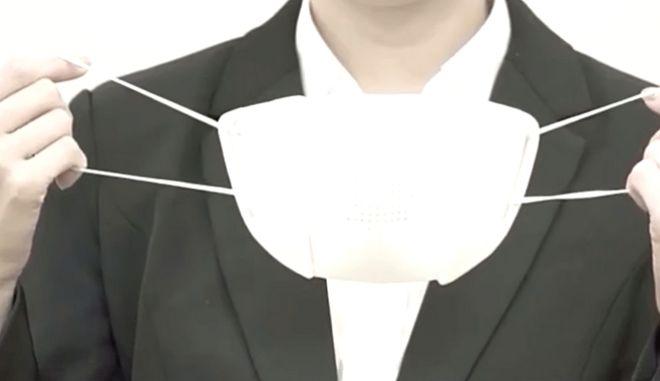 """""""Έξυπνη"""" μάσκα για τον κορονοϊό - Μεταφράζει την ομιλία σε 8 γλώσσες"""