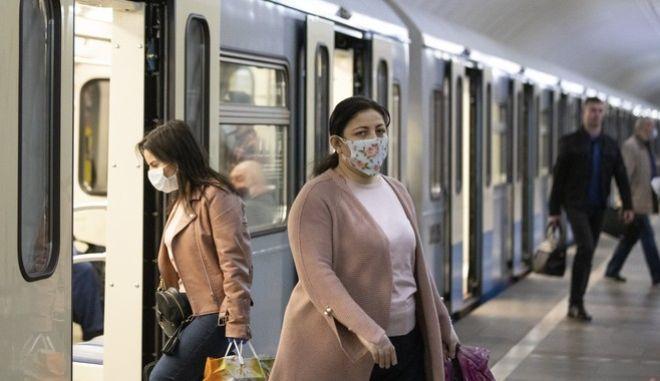 Σταθμός μετρό στη Ρωσία