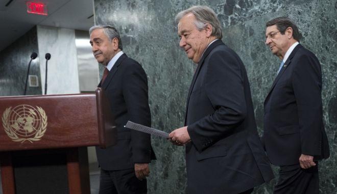 'Ναυάγιο' στη διάσκεψη για το Κυπριακό στο Κραν Μοντανά