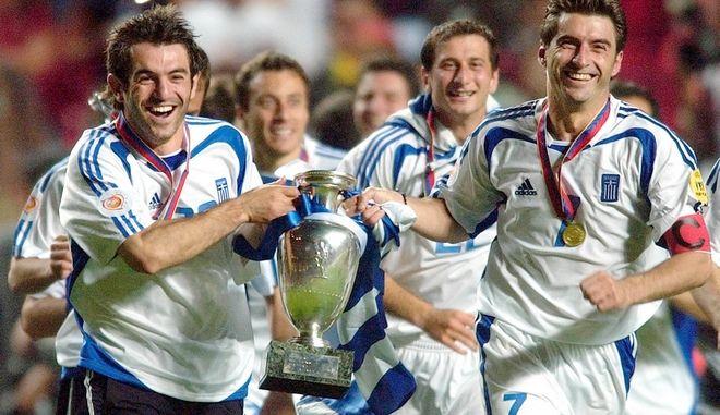 Η εθνική, πρωταθλήτρια Ευρώπης το 2004