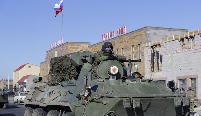 Ρωσικές δυνάμεις εισέρχονται στο Ναγκόρνο-Καραμπάχ