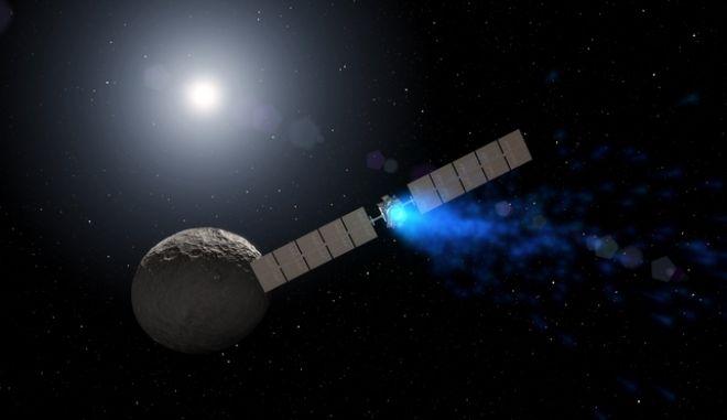 Το διαστημικό σκάφος Dawn (Αυγή) της Αμερικανικής Διαστημικής Υπηρεσίας (NASA)