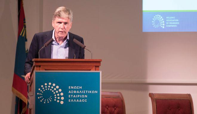 Ο Πρόεδρος της Ένωσης Ασφαλιστικών Εταιριών Ελλάδος, Αλέξανδρος Σαρρηγεωργίου