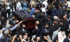 """Μίκης Θεοδωράκης: Η Ελλάδα ευγνωμονεί τον μεγάλο συνθέτη - Το ύστατο χαίρε στον Γαλατά Χανίων με την ιαχή """"Αθάνατος"""""""