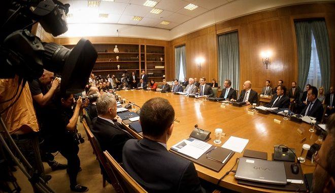 Συνεδρίαση του υπουργικού συμβουλίου την Τετάρτη 10 Ιουλίου 2019.
