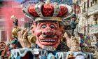 Στιγμιότυπο από το καρναβάλι της Πάτρας το 2019