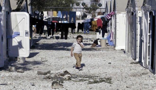 Κέντρα φιλοξενίας και καταγραφής προσφύγων στον Καρά Τεπέ, Λέσβος
