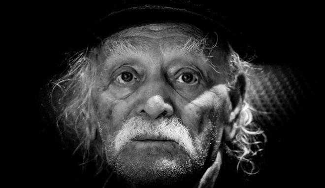 Ο Μανώλης Γλέζος απεβίωσε την Δευτέρα 30 Μαρτίου, σε ηλικία 98 ετών. (EUROKINISSI/ΓΙΩΡΓΟΣ ΚΟΝΤΑΡΙΝΗΣ)