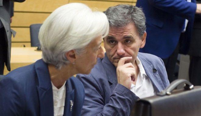 Τσακαλώτος σε Λαγκάρντ: Με ή χωρίς το ΔΝΤ θα βγούμε στις αγορές