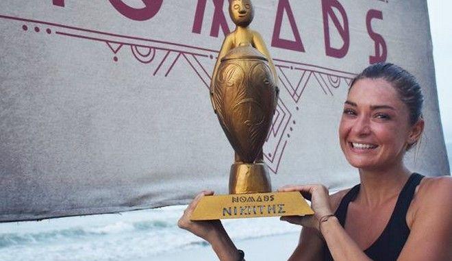 Αποστολία Ζώη στους τηλεθεατές του Nomads: Ελπίζω να μην σας απογοήτευσα