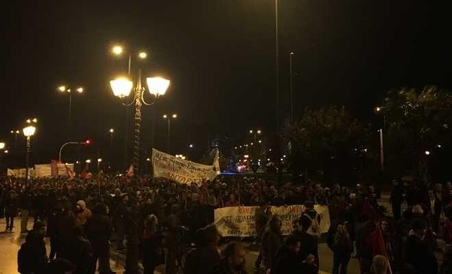 Ολοκληρώθηκε η αντιφασιστική συγκέντρωση στο κέντρο της Αθήνας