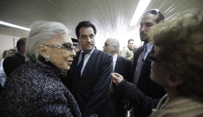 """Επίσκεψη του υπουργού Υγείας Άδωνι Γεωργιάδη στο νοσοκομείο """"Αγία Όλγα"""", στη Νέα Ιωνία, Τρίτη 14 Ιαν. 2014. (EUROKINISSI/ΓΕΩΡΓΙΑ ΠΑΝΑΓΟΠΟΥΛΟΥ)"""
