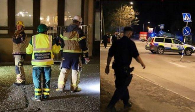Ισχυρή έκρηξη στη Στοκχόλμη: Αρκετοί τραυματίες