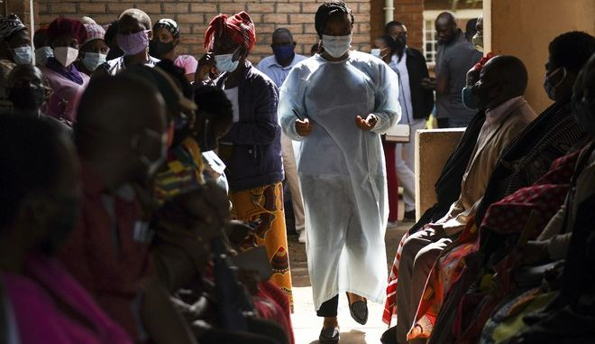 Κορονοϊός στην Αφρική