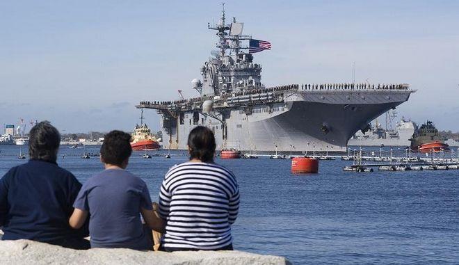 USS Iwo Jima: Στα άδυτα του μεγαλύτερου αεροπλανοφόρου στον κόσμο