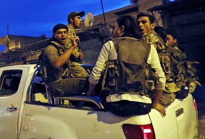Σύροι μαχητές που πολεμούν στο πλευρό της Τουρκίας