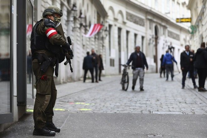 Αστυνομία στο κέντρο της Βιέννης