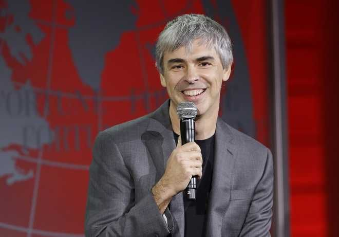 FILE- In this Nov. 2, 2015, file photo, Alphabet CEO Larry Page speaks at the Fortune Global Forum in San Francisco. Google has been thriving since adopting Alphabet Inc. as its corporate parent in 2015, underscoring how much the company still depends on digital advertising despite spending heavily on quirky projects in search of another technological jackpot. Page predicted that separating the smaller operations from the massive search-and-advertising business would spur innovation by fostering a more entrepreneurial atmosphere. But that hasnt happened in Alphabets first year. (AP Photo/Jeff Chiu, File)