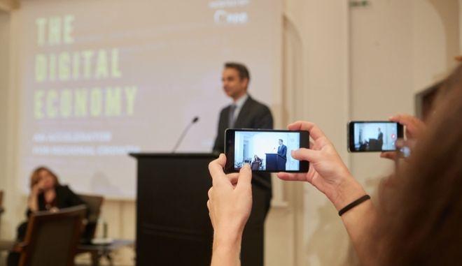 Μητσοτάκης: Προτεραιότητα ο ψηφιακός μετασχηματισμός της οικονομίας και της κοινωνίας
