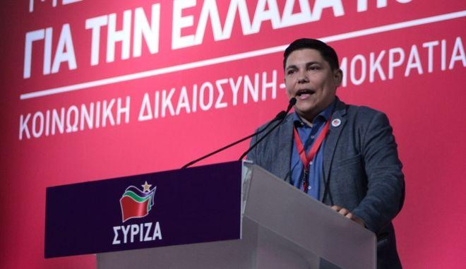 O Γιάννης Μπουρνούς στο 2ο Συνέδριο του ΣΥΡΙΖΑ
