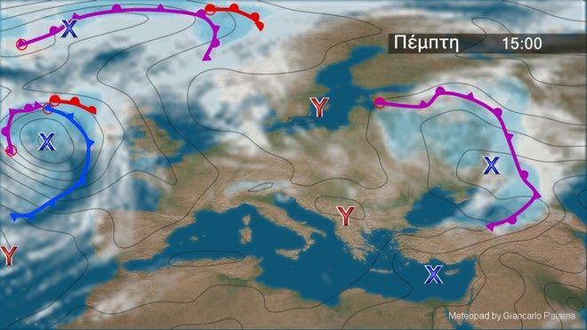 Κανονικές θερμοκρασίες - Διατηρείται το μελτέμι στο Αιγαίο