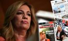 """Φώφη Γεννηματά: Οι εφημερίδες την αποχαιρετούν - """"Γενναία και αγωνίστρια ως το τέλος"""""""